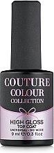 Духи, Парфюмерия, косметика Закрепитель гель-лака без липкого слоя - Couture Colour High Gloss Top Coat Universal NO Wipe