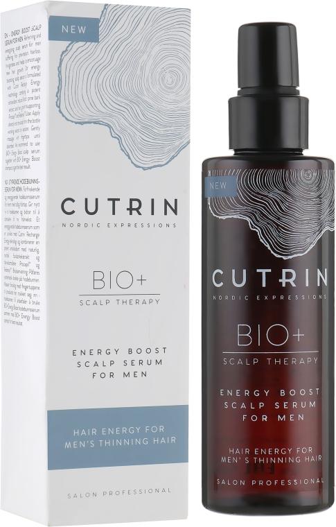 Укрепляющая сыворотка для кожи головы мужчин - Cutrin Bio+ Energy Boost Scalp Serum For Men