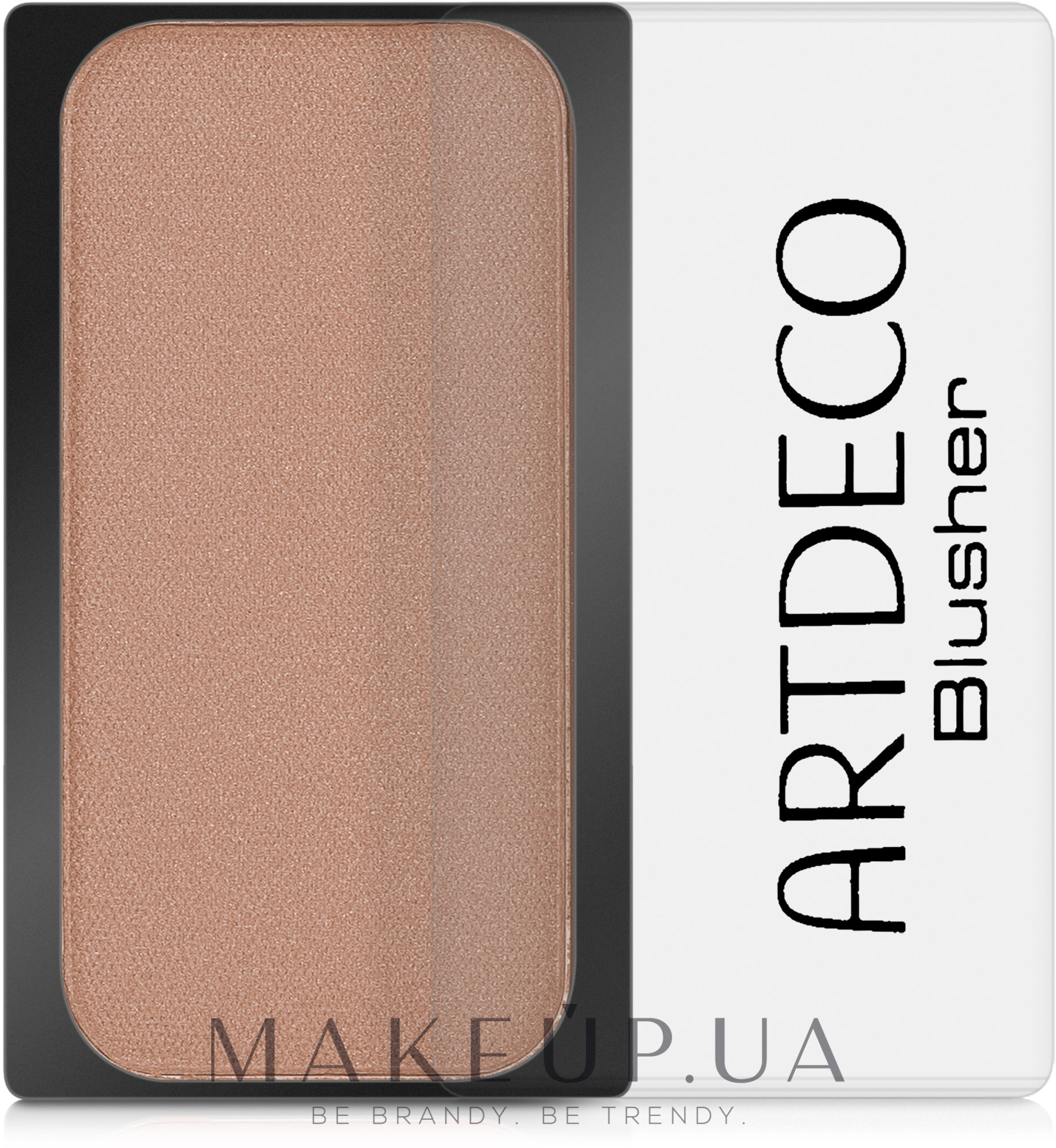 Румяна компактные - Artdeco Compact Blusher — фото 02 - Deep Brown Orange