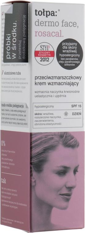 Укрепляющий крем от морщин - Tolpa Dermo Face Rosacal Face Cream