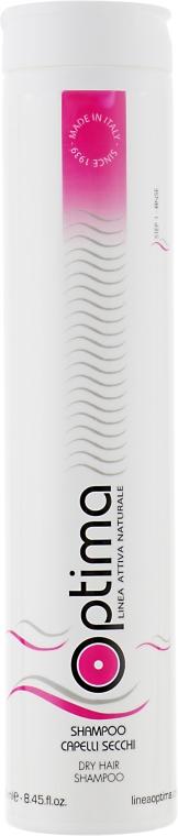 Шампунь для сухих и окрашенных волос - Optima Shampoo Secchi