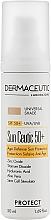 Духи, Парфюмерия, косметика Солнцезащитный крем - Dermaceutic Laboratoire Protect Sun Ceutic 50+ Teinte SPF50