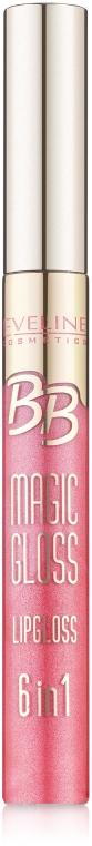 Блеск для губ - Eveline Cosmetics BB Magic Gloss Lipgloss 6 w 1
