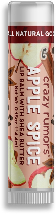Бальзам для губ - Crazy Rumors Apple Spice Lip Balm