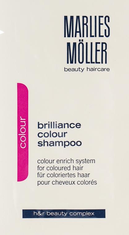 Шампунь для окрашенных волос - Marlies Moller Brilliance Colour Shampoo (пробник)