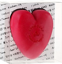 """Духи, Парфюмерия, косметика Натуральное мыло """"Сердце"""" в подарочной коробке - Essencias De Portugal Love Soap Transparent Box"""