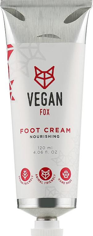 Крем для ног питательный - Vegan Fox Nourishing Foot Cream