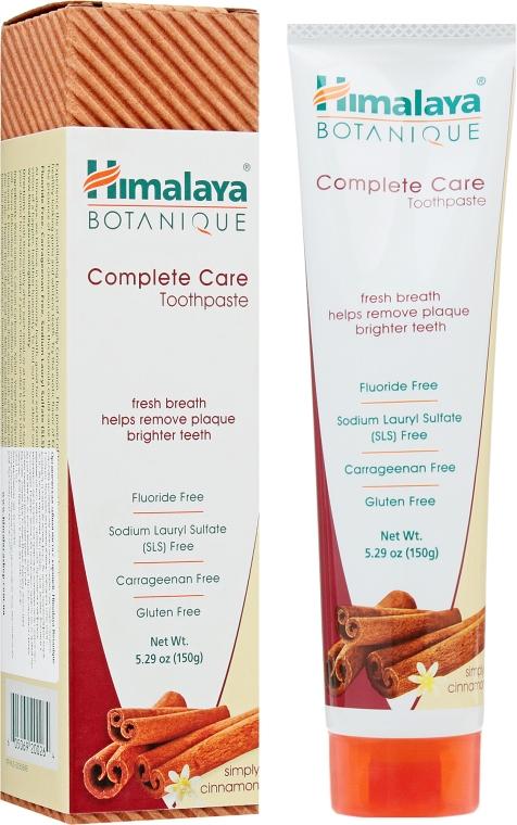 Органическая зубная паста с корицей - Himalaya Herbals Botanique Complete Care Toothpaste Simply Cinnamon