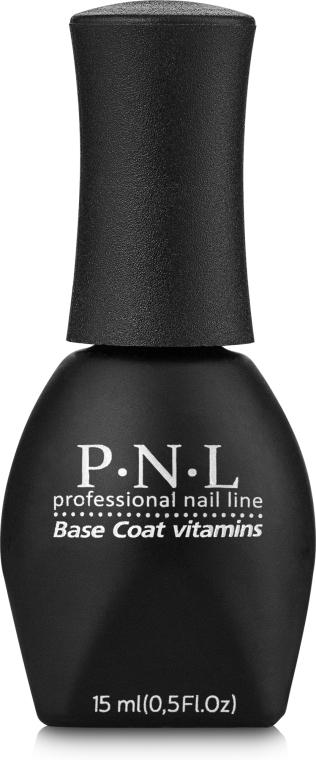 Базовое покрытие для гель-лака - PNL Professional Base Coat Vitamins