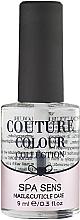 Духи, Парфюмерия, косметика Средство для ухода за ногтями и кутикулой - Couture Colour Spa Sens