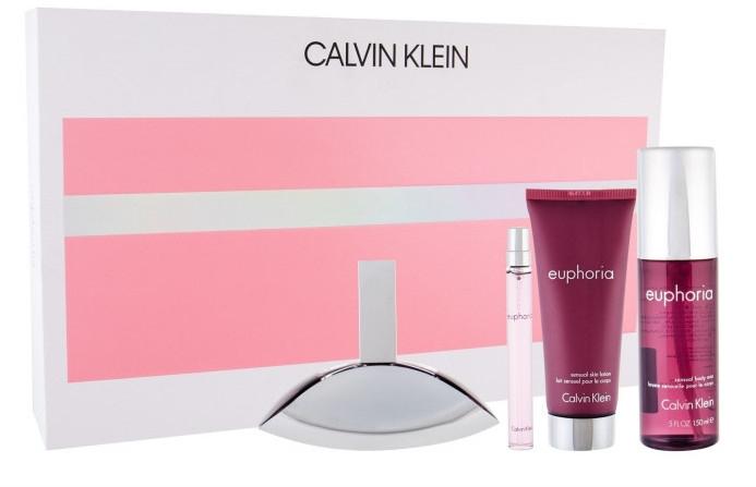 Calvin Klein Euphoria - Набор (edp/100ml + edp/10ml + b/l/100ml + b/mist/150ml)