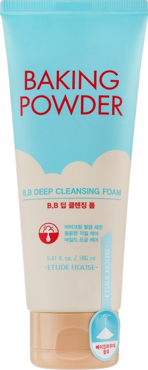 Пенка для умывания - Etude House Baking Powder BB Deep Cleansing Foam