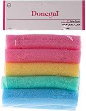 Духи, Парфюмерия, косметика Бигуди-папильотки 9252, средний размер, разноцветные, 10 шт - Donegal Sponge Rollers