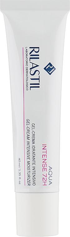 Гель-крем для интенсивного увлажнения кожи лица в течение 72 часов - Rilastil Aqua Intense 72H Gel-Crema