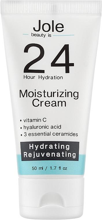 Увлажняющий крем с Гиалуроновой кислотой и комплексом Керамидов - Jole 24h Moisturizing Cream