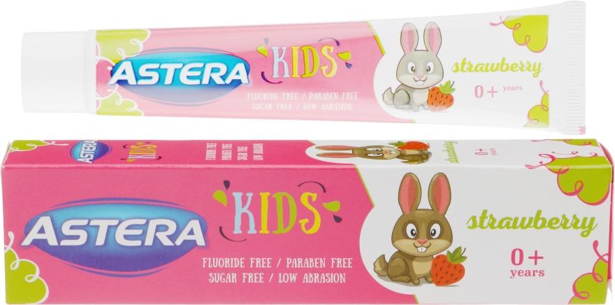 Зубная паста с клубничным вкусом - Astera Kids With Strawberry