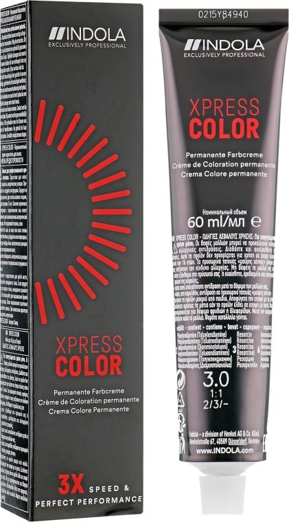 Indola Xpress Color 3X Speed & Perfect Performance - Перманентная крем-краска для волос: купить по лучшей цене в Украине | Makeup.ua