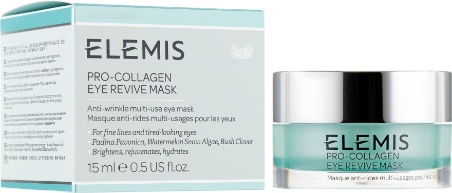 Крем-маска для глаз против морщин - Elemis Pro-Collagen Eye Revive Mask