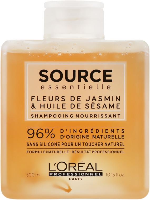 Шампунь питательный, для сухих волос - L'Oreal Professionnel Source Essentielle Nourishing Shampoo