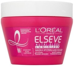 Духи, Парфюмерия, косметика Маска для волос - L'Oreal Paris Elseve Nutri-Gloss Luminizer High Shine Mask