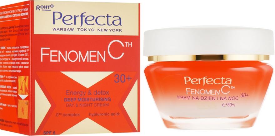 Увлажняющий крем для лица - Perfecta Fenomen C Cream 30+ Spf 6