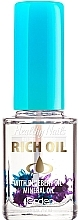 "Духи, Парфюмерия, косметика Масло для кутикулы и ногтей с сухоцветами ""Черника"" № 170 - Jerden Healthy Nails Rich Oil"