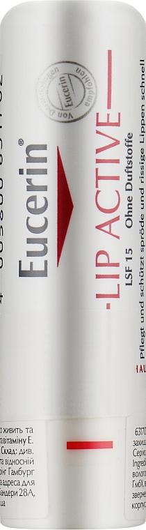 Бальзам для сухой кожи губ - Eucerin pH5 Lip Activ SPF15