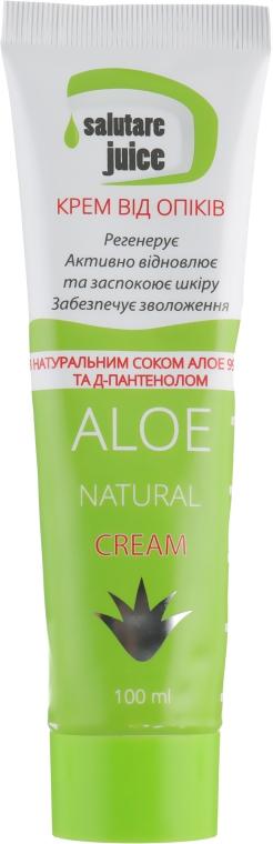 Крем от ожогов с соком Алоэ и Д-пантенолом - Green Pharm Cosmetic Salutare Juice Aloe Natural Cream