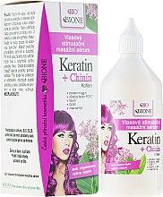 Духи, Парфюмерия, косметика Сыворотка для волос - Bione Cosmetics Keratin + Quinine Stimulating Massaging Hair Serum