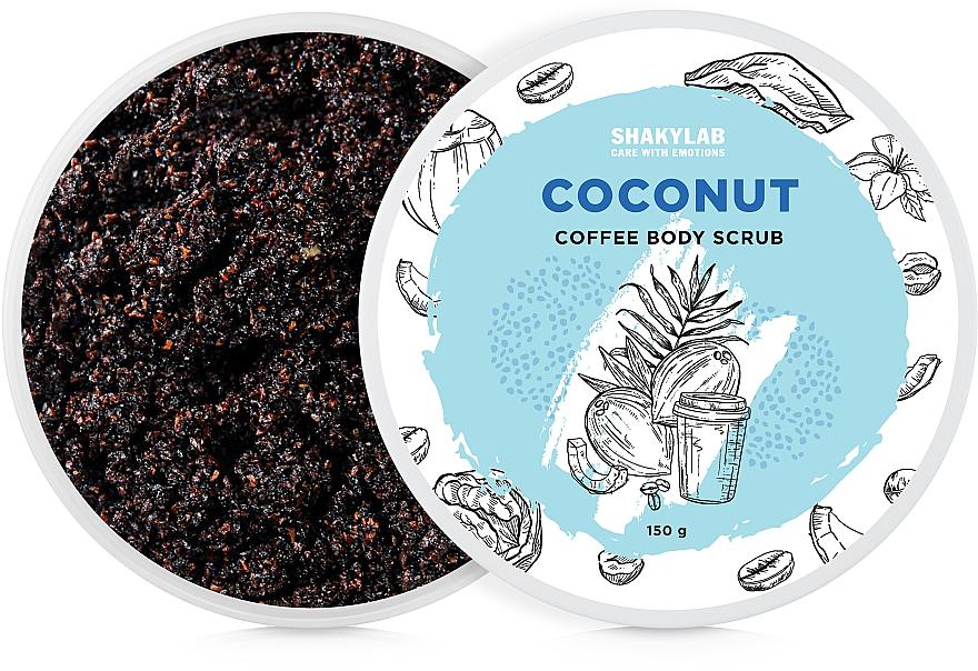 При покупке продукции SHAKYLAB на сумму от 300 грн получите в подарок кофейный скраб для тела на выбор