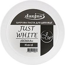 """Духи, Парфюмерия, косметика Парфюмированная сахарная паста для депиляции """"Белая"""", твердая - Danins Just White Sugar Paste Hard"""