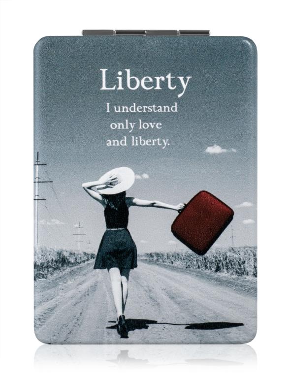 """Зеркало косметическое, """"Liberty"""", серое - SPL"""