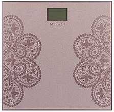 Духи, Парфюмерия, косметика Весы напольные - Maxwell MW-2672 Pink