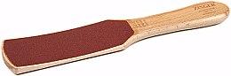 Духи, Парфюмерия, косметика Терка педикюрная WFF-23 деревянная швейцарская шкурка, 60/100, красная - Zinger