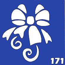 Духи, Парфюмерия, косметика Трафарет для боди-арта, 6х6 см, 171 - Biofarma