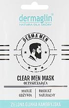 """Духи, Парфюмерия, косметика Маска для лица мужчин """"Очищение"""" - Dermaglin Clear Men Mask"""