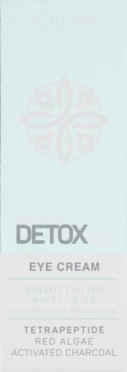 Vollare Multi-Active Detox Q10 Eye Cream - Крем для кожи вокруг глаз: купить по лучшей цене в Украине | Makeup.ua