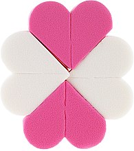 Духи, Парфюмерия, косметика Спонжи для макияжа, 8 шт. 9672, розовые + белые - Donegal Sponge Make-Up