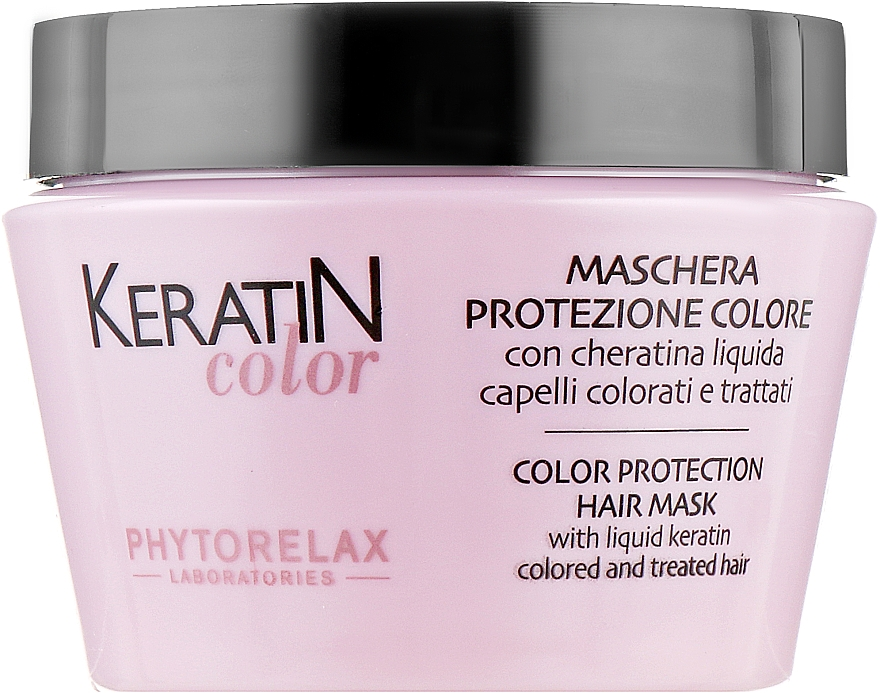 Маска для окрашеных волос - Phytorelax Laboratories Keratin Color Protection Hair Mask