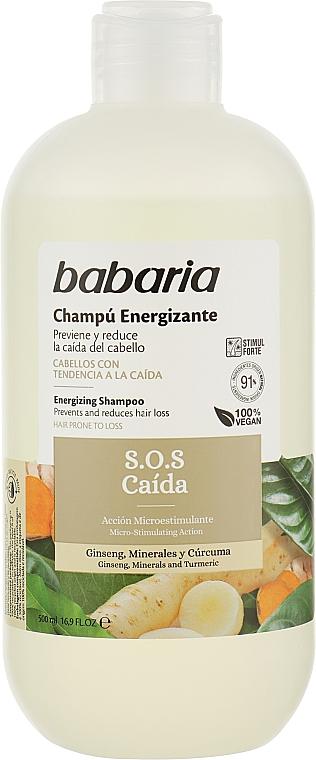 Шампунь против выпадения волос - Babaria S.O.S Caida Shampoo