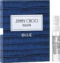 Духи, Парфюмерия, косметика Jimmy Choo Man Blue - Туалетная вода (пробник)
