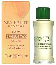 Духи, Парфюмерия, косметика Frais Monde Spa Fruit Peach And White Musk Perfumed Oil - Парфюмированное масло