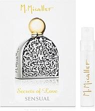 Духи, Парфюмерия, косметика M. Micallef Secrets of Love Sensual - Парфюмированная вода (пробник)