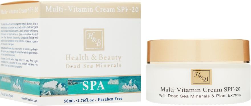 Мультивитаминный крем с SPF-20 - Health And Beauty Multi-Vitamin Cream SPF-20
