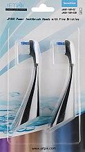 Духи, Парфюмерия, косметика Насадка для зубной щетки для чувствительных зубов - Jetpik JP300 Sensitive Black