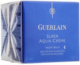 Духи, Парфюмерия, косметика Крем для лица - Guerlain Super Aqua Night Balm