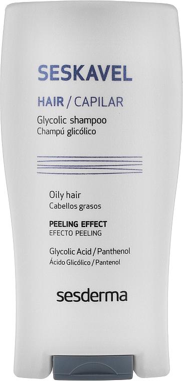 Защитный шампунь с гликолиевой кислотой - SesDerma Laboratories Seskavel Glycolic Shampoo