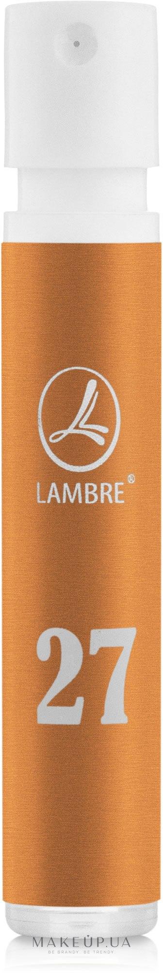 Lambre 27 - Духи (пробник) — фото 1.2ml