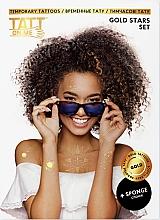Духи, Парфюмерия, косметика Временные тату - TATTon.me Gold Stars Set