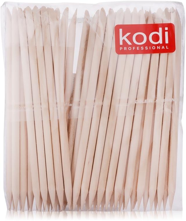 Апельсиновые палочки для маникюра, 50шт. - Kodi Professional Orange sticks 10cm